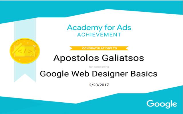 Ag Web Design Development Certifications
